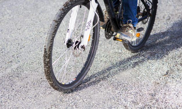 Grus orsakar mer än var femte cykelolycka i mars